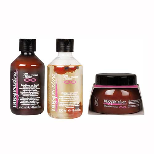 DIKSONATURA COLOURED AND TREATED HAIR TREATMENT
