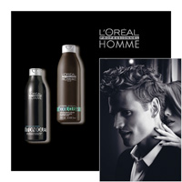 L'Oréal Professionnel HOMME - TONIQUE and COOL CLEAR